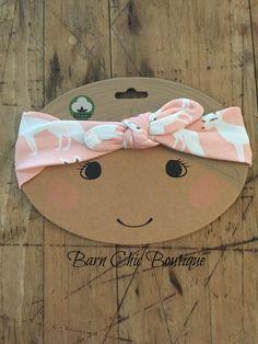 e7907504f MilkBarn Baby Organic Headband - Pink Fox Organic Clothing Brands, Baby  Clothes Brands, Pink