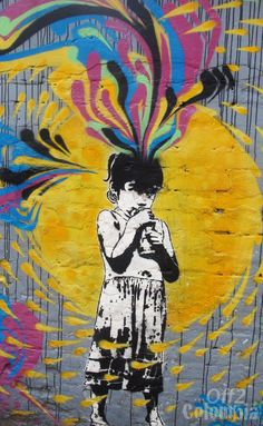 Graffiti in Bogota, near Calle 100  http://off2colombia.com/bogota-off-the-beaten-tracks/644-bogota-graffiti-tour