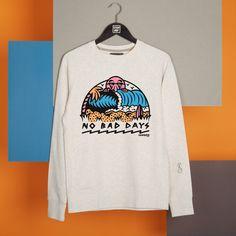 """""""No Bad Days"""", Sweat Stepart par Sequence. Dispo aussi en T-Shirt !"""