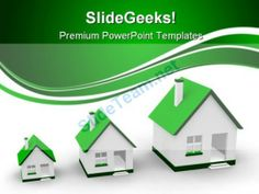 Growth Of Houses Real Estate PowerPoint Templates And PowerPoint Backgrounds 0411 #PowerPoint #Templates #Themes #Background