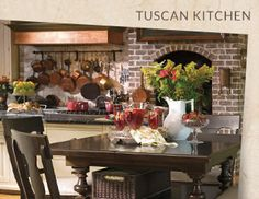 I pinned this from the Tuscan Kitchen - Rustic & Refined Dining Sets, Tabletop & More event at Joss and Main!