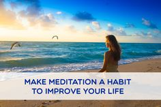 There is no doubt at all that a regular #meditation practice improves #health in a number of ways, but the caveat is that the practice must be regular. Intermittent practice does not have the benefits of a habit.