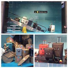 "NORDISKA KOMPANIET, Stockholm, Sweden, ""On the move ✈️"", creative by JoAnn Tan Studio, pinned by Ton van der Veer"