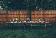 Perfect Backdrop. Perfect Mood. #indie #party #dinner #lighting #mood