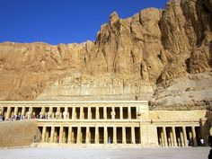 Egypt - Queen Hatshepshut's Temple in the Valley of the Kings