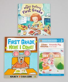 Take a look at this Getting Ready for First Grade Paperback Set by Penguin Group (USA) on #zulily today!