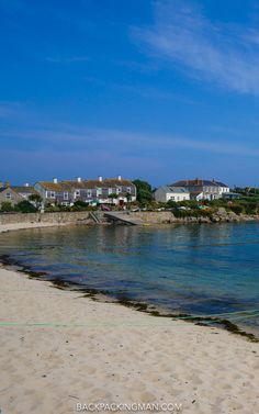Old Town on St Mary's island in the Isles of Scilly.
