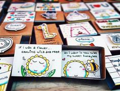 Vietnamese Artist Creates Tiny Matchbox Greeting Cards With A Hidden Messages Inside - ETSY