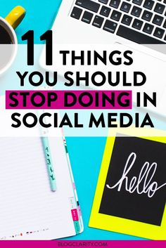 Some of this is social media 101, but doing these can hurt your social media marketing. Learn these tips on what NOT to do (and what you should do instead).