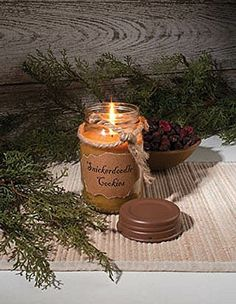 Snickerdoodle Primitive Jar Candle by Ohio Wholesale  Price : $23.95 http://harmonyhomeshop.hostedbywebstore.com/Snickerdoodle-Primitive-Candle-Ohio-Wholesale/dp/B00B1USR26