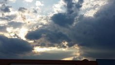 Beautiful cloud and sun