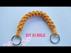 Macrame Purse, Macrame Knots, Diy Purse Handles, Crochet Handles, Crochet Placemats, Macrame Patterns, Crochet Patterns, Micro Macramé, Crochet Videos