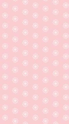 Pink Summer Flowers iPhone Home Wallpaper @PanPins