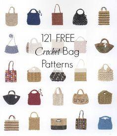121 Crochet Bag Patterns FREE