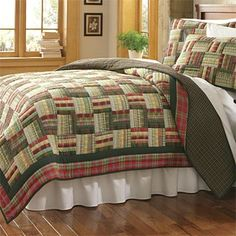 Log Cabin Quilts / Battenkill Log Cabin Quilt -- Orvis UK