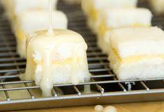 lemon petits fours recipe | use real butter