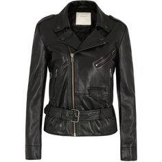 Surface To Air Fecto Black Leather Jacket