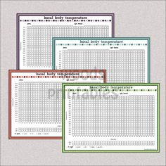 Menstrual Cycle Calendar  Tracker Printable Pdf By Tidymighty