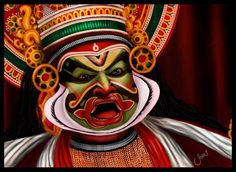 Kathakali masks - Google Search