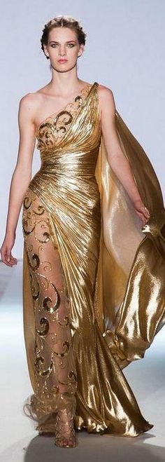 MYTH Masque -  Inspiration: ZUHAIR MURAD Haute Couture ~ Spring Collection 2013