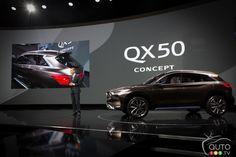 #Infiniti QX50 Concept celebrates world premiere in Detroit | Car News | Auto123