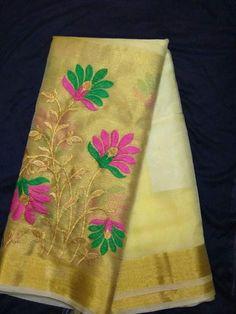 Exclusive Semi Organza Saree | Buy Online Sarees | Elegant Fashion Wear