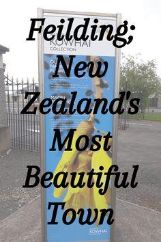 Feilding; New Zealand's Most Beautiful Town #ontheroadkiwis #travel #newzealand #nztoday #nzmustdo #photography #newzealandlife #northisland #thisismanawatu #feildingnz
