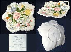 Blue Ridge Pottery is wonderful art as well as dinnerware.  cajunc.com