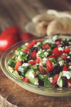 Simple, Delicious, Clean Eating Appetizer- Mediterranean 5 Layer Hummus Dip!