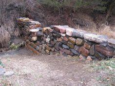 Field stone dam