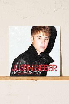 Justin Bieber - Under The Mistletoe LP - Urban Outfitters