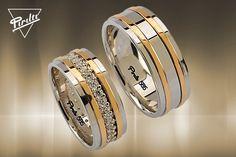 Pırıltı Alyans   KIRMIZI ALYANS MODELLERİ Wedding Ring Styles, Wedding Ring Designs, Engagement Rings Couple, Couple Rings, Mens Diamond Wedding Bands, Gold Ring Designs, Beautiful Wedding Rings, Pretty Rings, Love Ring