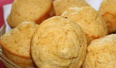 Esponjosos muffins de maíz. Aquí la receta.