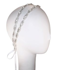 Hanne Double Band Crystal Headband by KirstenKuehnDesigns on Etsy