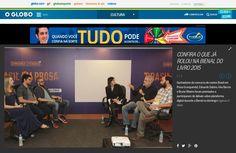 FML Pepper at O Globo + Amazon event at Bienal do Livro Rio 2015