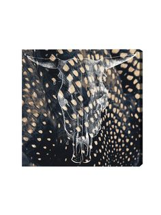 Ox Head (Canvas) by Oliver Gal at Gilt
