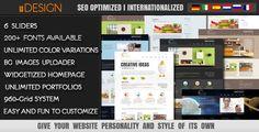 U-Design #WordPress Theme $35