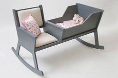 Stylisch und praktisch: die Rockid Babywiege