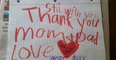 02 de outubro de 2015: Família: Pais encontram bilhete do filho de 6 anos depois de ele morrer (Nova Gente)