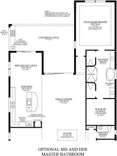 His and Hers Bathroom Floor Plans Luxury Jupiter Country Club Golf Villas Master Suite Layout, Master Bathroom Layout, Master Bedroom Plans, Simple Bathroom, Farmhouse Style Bedrooms, French Country Bedrooms, Coastal Farmhouse, Bathroom Floor Plans, Bathroom Flooring