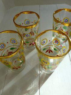 Moroccan tea glasses ...