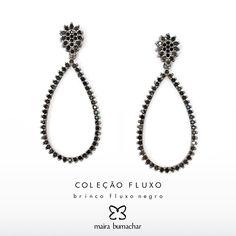 Brinco gota negro sempre elegantes e sofisticados! #VilaMadalena #PraiadoCanto #Vix #SP #Amor #Tendência #Fashion #Blogueiras #MairaBumachar #PedidosWhatsapp (11) 99744-0079
