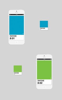 This is awesome. An iPhone app that tells you time using Pantones! Designer heaven. Nice UI as well. Clean and simple design.