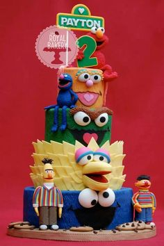1000 Images About Cakes Muppets Sesame Street On