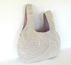 Handbag Project bag for knitting crochet Eco-friendly Yarn