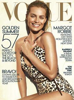 Margot Robbie on Vogue Magazine June 2016 Cover