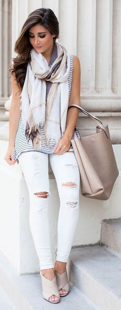 Fall Transitions Outfit Idea by The Darling Detail
