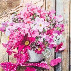 Guardanapo-Arranjo-de-Flores-Pink-GCD211545---Toke-e-Crie