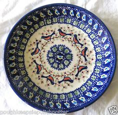 Image result for polish pottery with birds