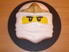 LEGO Ninjago Zane Cake cakepins.com